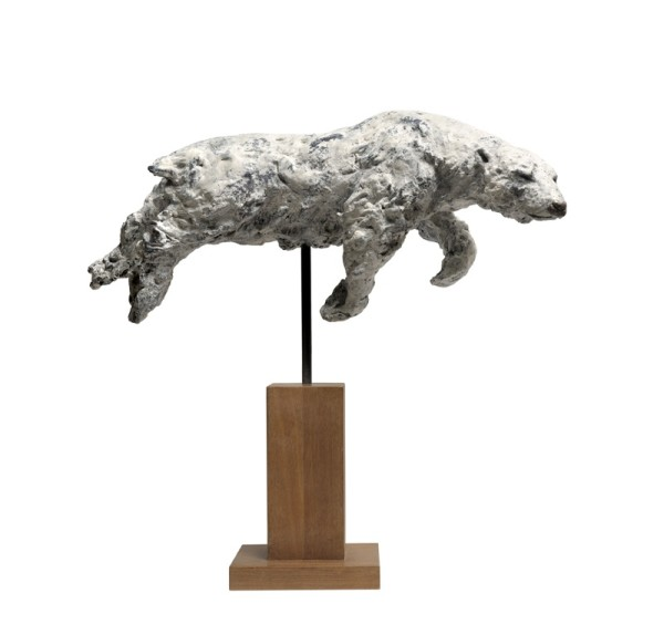 Tanya Brett, Swimming Polar Bear - Artist's Proof