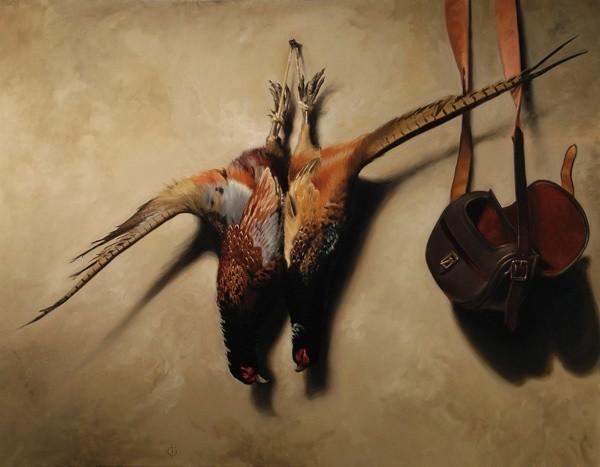 James Gillick, Two Cock Pheasants