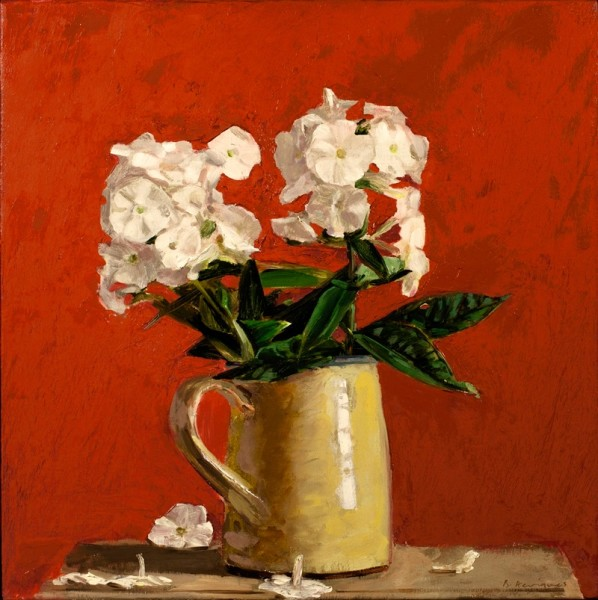 Ben Henriques, Phlox in an Earthenware Jug