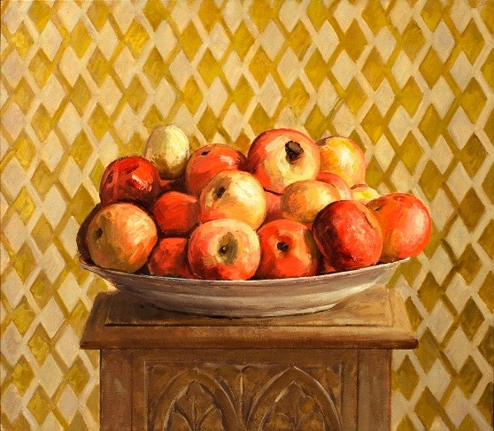 Ben Henriques, Apples on a Plate
