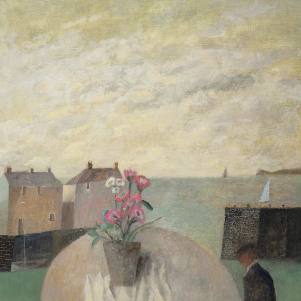 Nicholas Turner, Harbour with Flowers