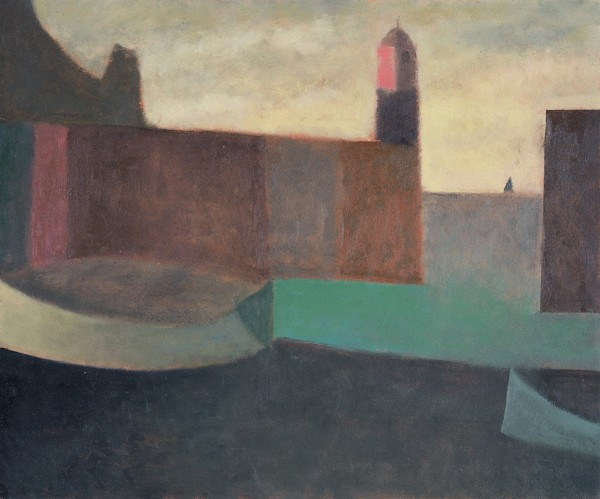 Nicholas Turner, Lighthouse and Boats