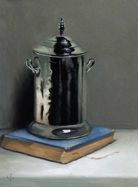 James Gillick, Silver Pot and Book