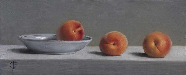 James Gillick, Apricots & a Dish II