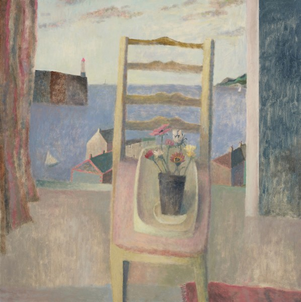 Nicholas Turner, Chair with Flowers