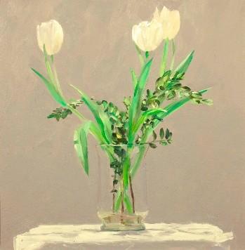 Ben Henriques, White Tulips
