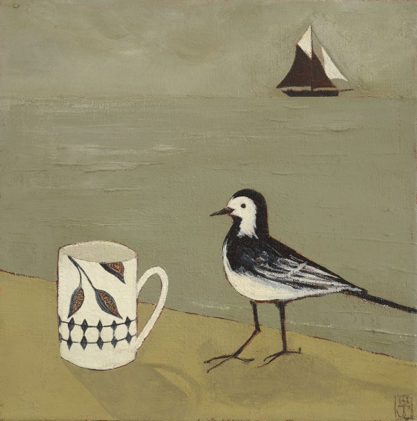 Jo Oakley, The Wagtail and Me