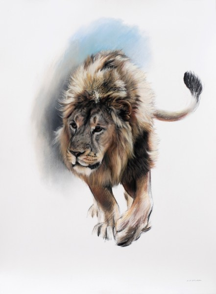 Gary Stinton, Asiatic Lion I