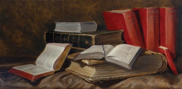 James Gillick, Books & Ledgers, 2001