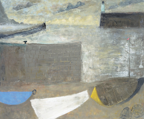 Nicholas Turner, Three Boats and Headland