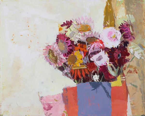 Sydney Licht, Still Life with Straw Flowers , 2016