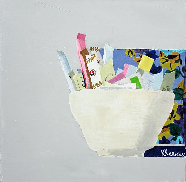 Sydney Licht, Still Life with Box of Tissues , 2016