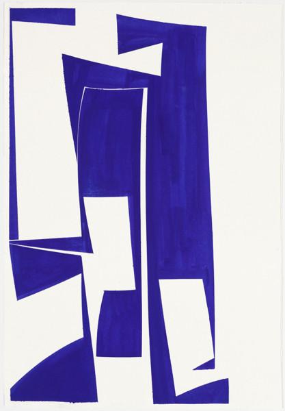 Joanne Freeman, Covers 24 x 18 Blue C, 2016