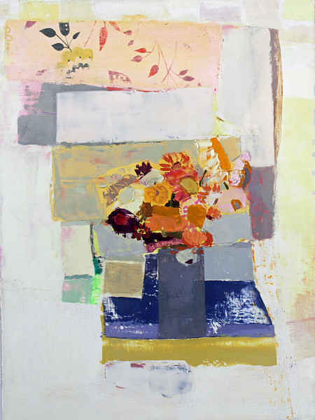 Sydney Licht, Still Life with Flowers, 2017