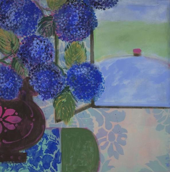 Denise Regan, Favorite Blue Flowers, 2014