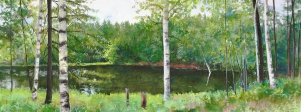Elissa Gore, St. Regis River, 2017