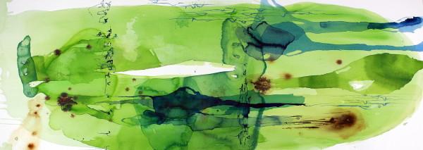 Ana Zanic, Green Nebula W-2017-7-19, 2017