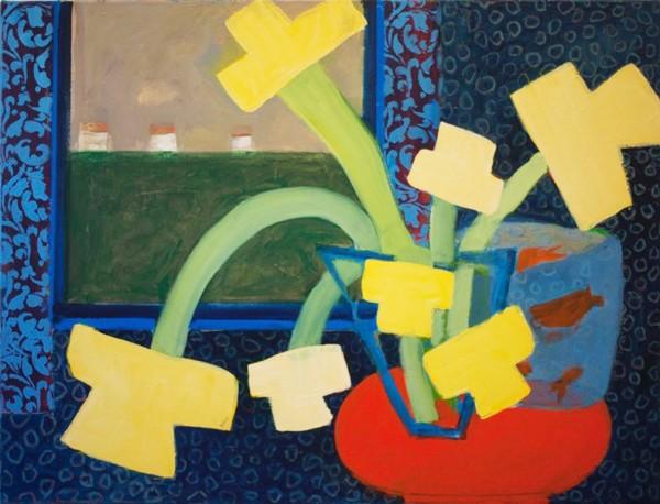 Denise Regan, 7 Daffodils, 2014