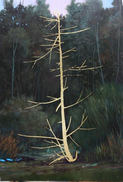 Peter Hoffer, Sleeping Pine , 2017