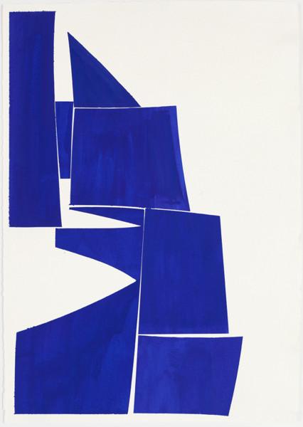 Joanne Freeman, Covers 24 x 18 Blue , 2016