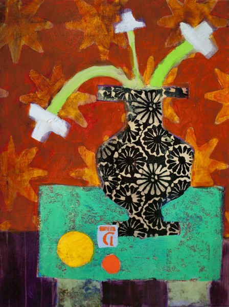 Denise Regan, Still Life Yellow Ball, 2013