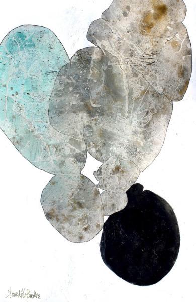 Meredith Pardue, Fragments (Leaves V), 2018