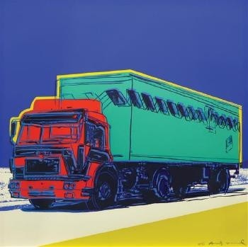 Andy Warhol, Truck, 1985
