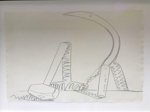 Andy Warhol, Still Life - (Hammer & Sickle), 1977