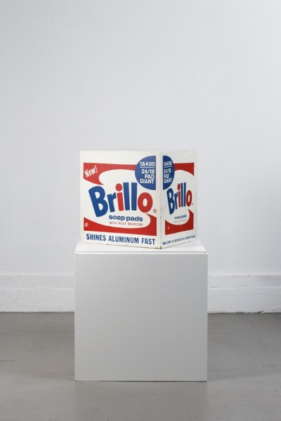 Andy Warhol, Brillo Soap Pads Box 1968 - Stockholm Type, 1968