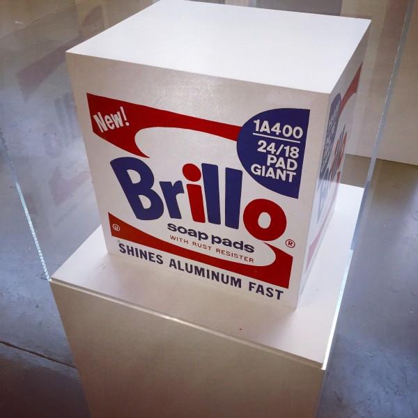 Andy Warhol, Brillo Soap Pads Box 1968/1990 Malmö Type (inv2), 1968/1990