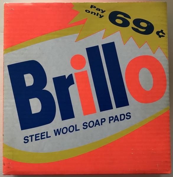 Andy Warhol, Brillo Soap Pads - rare catalogue in box., 1988