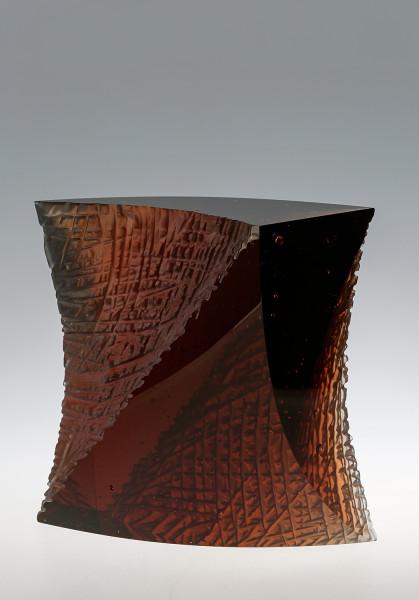Tomas Brzon, Wave, Dark Amber, 2017