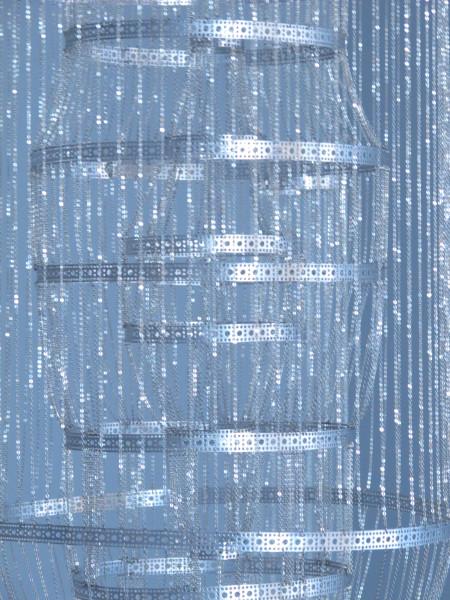 Afruz Amighi, Self-Portrait in Chain (detail), 2012