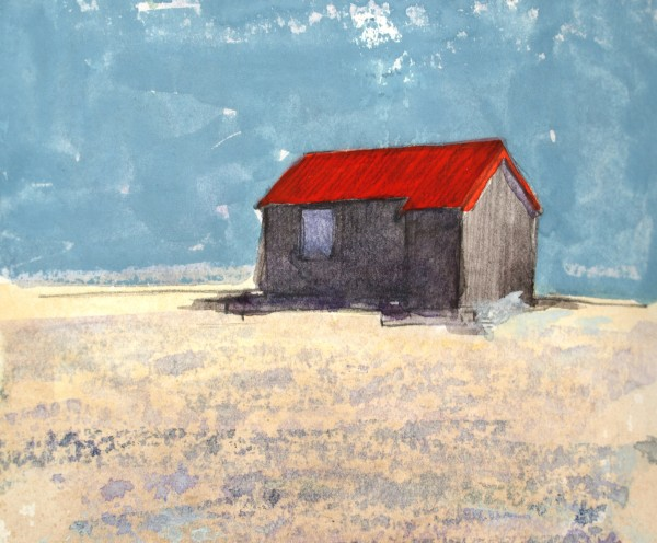 James Robson, Hut, Rye Harbour