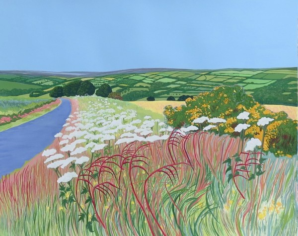 Janet Darley, Cowbane and Gorse Near Pickering