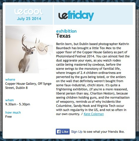 Le Cool review Texas by Kathrin Baumbach