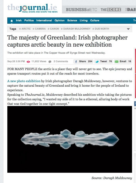 Out of Thin Air by Daragh Muldowney in The Journal.ie