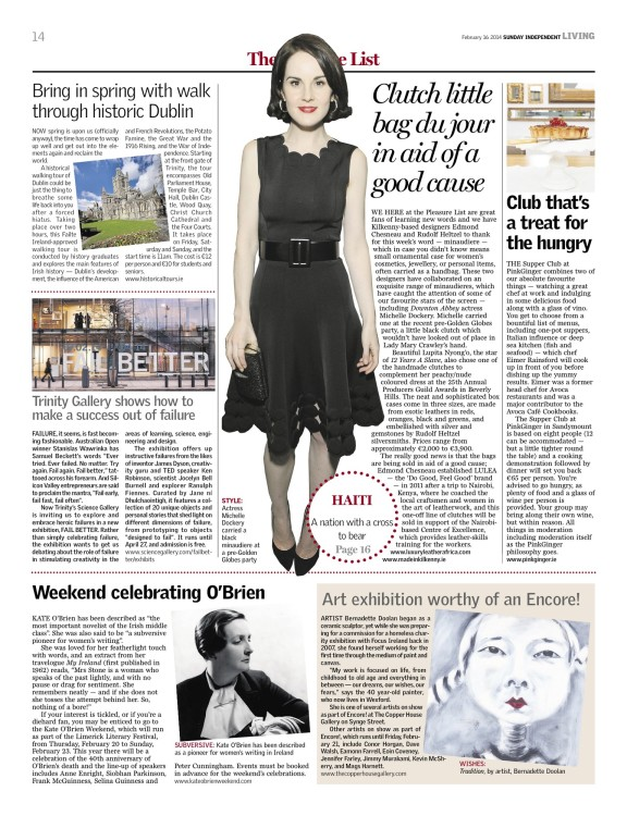 Review of Encore! by The Sunday Independent