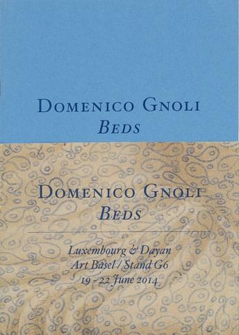 Domenico Gnoli: Beds