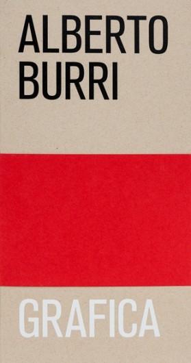 Alberto Burri: Grafica