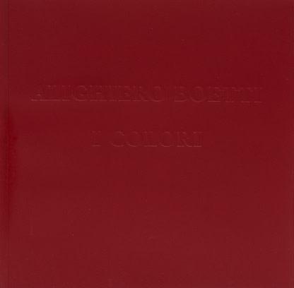 Alighiero Boetti: i Colori