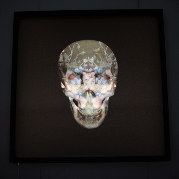 Magnus Gjoen - I THOUGHT WE'D ONLY MEET IN DEATH - LIGHTBOX, 2018