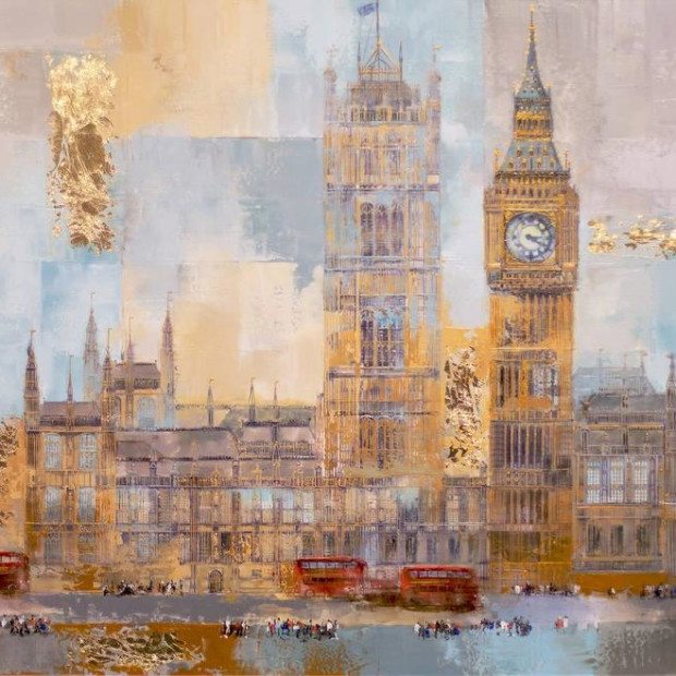 Veronika Benoni - Busy Day In London - Commission, 2019