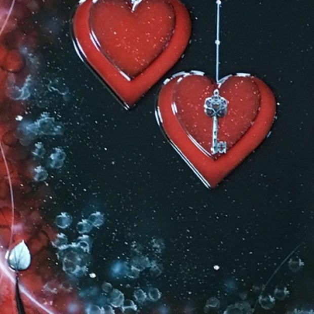 Kealey Farmer - Love Is The Key - Red, 2017