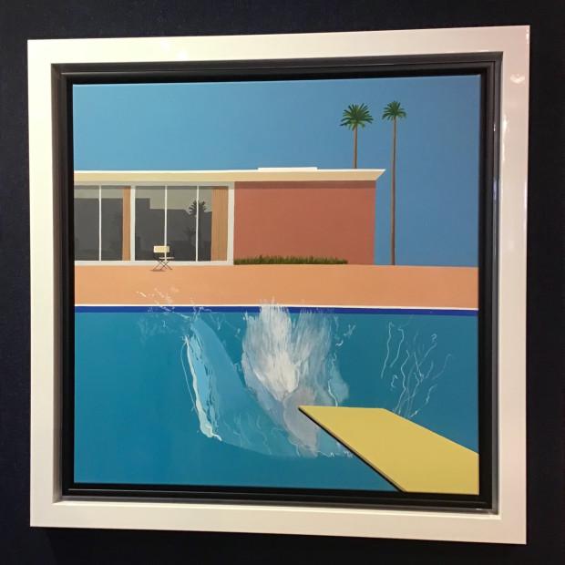Peter Osborne - David Hockney - A Bigger Splash , 2019