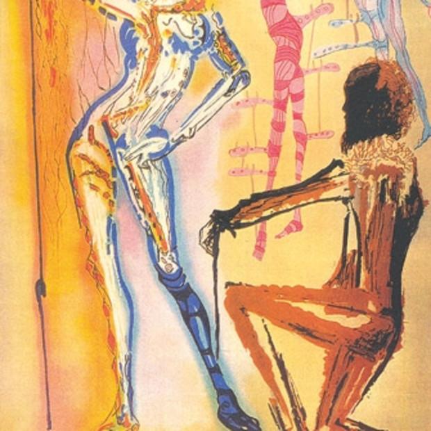 Salvador Dali - Homage To Fashion