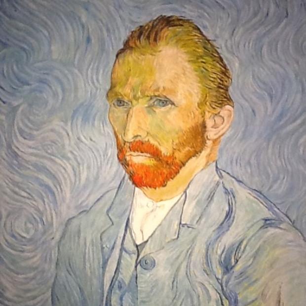 Peter Osborne - Vincent Van Gogh - Self Portrait, 2018