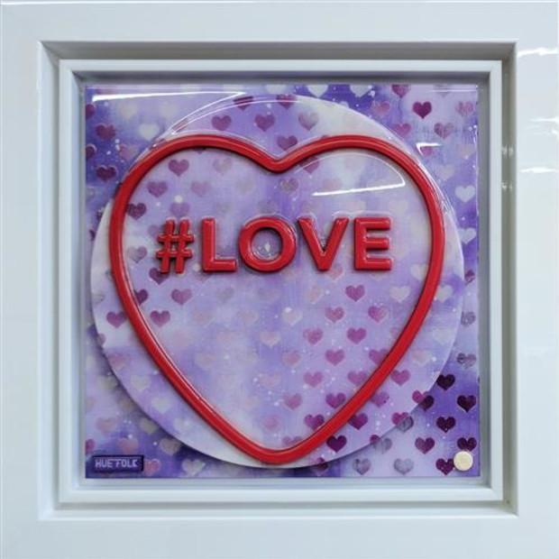 Hue Folk - Love - Sweetart - Double Purple , 2017