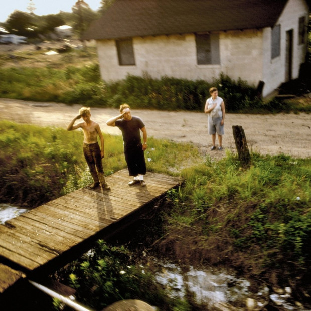 Paul Fusco - RFK Funeral Train #1706, 1968