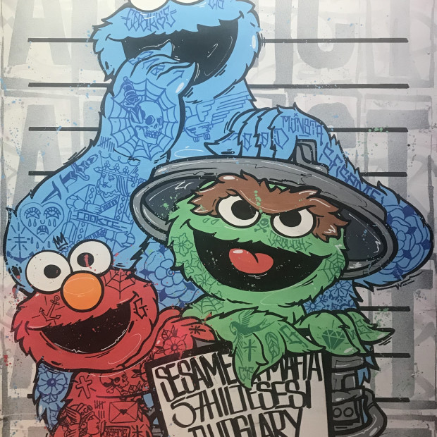 Opake One - Sesame Street Mafia, 2021